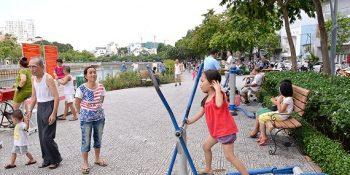 Giải pháp âm thanh công cộng - Âm thanh công viên