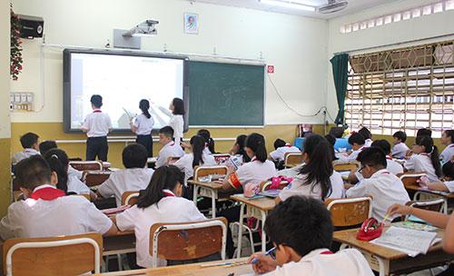 Thiết bị âm thanh giảng dạy, thiết bị âm thanh dạy và học.