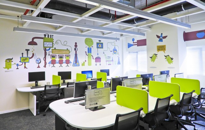 Bố trí thiết bị âm thanh văn phòng giúp làm việc hiệu quả hơn. 3