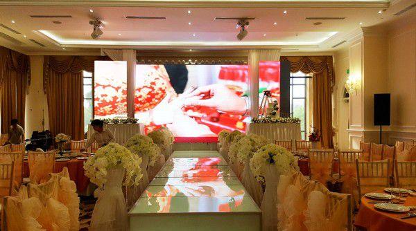Thiết kế hệ thống âm thanh nhà hàng, tiệc cưới. 5