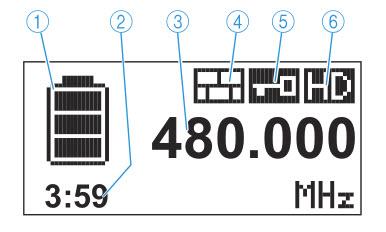 Màn hình LCD SKM 9000 hiển thị nhiều thông tin hữu ích