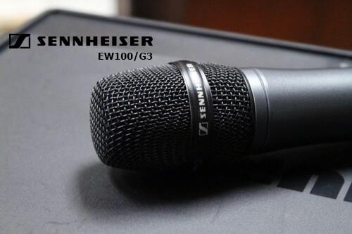 Micro không dây Sennheiser hát karaoke 1