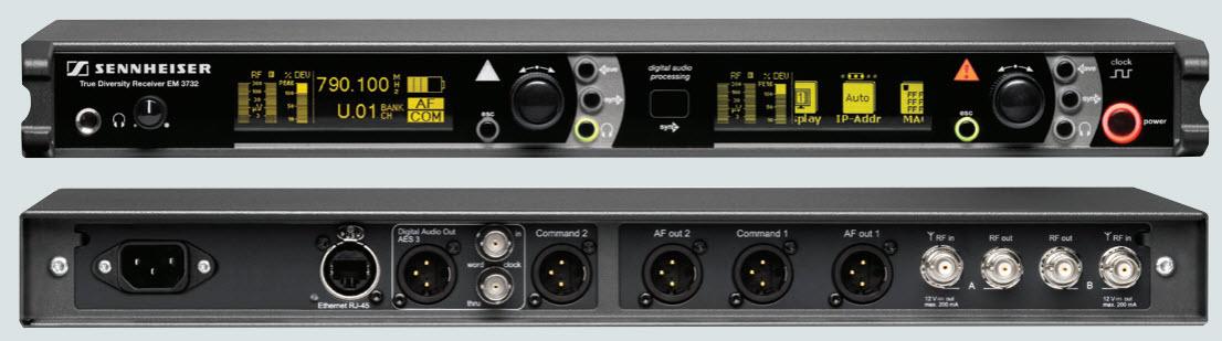 Đầu thu sóng của Micro không dây Sennheiser EM 3732 G3
