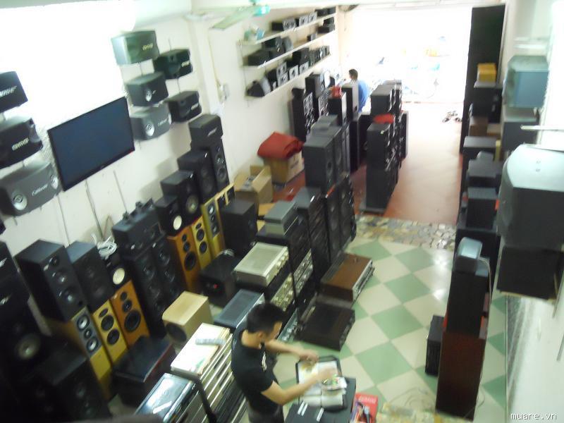 thiết bị âm thanh nhập khẩu chính hãng