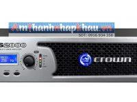 Thông số kỹ thuật của cục đẩy công suất CROWN XLS 2000 3