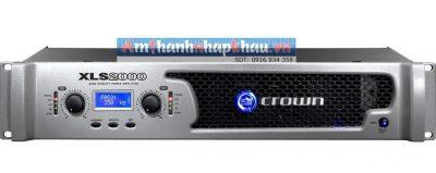 Thông số kỹ thuật của cục đẩy công suất CROWN XLS 2000 1