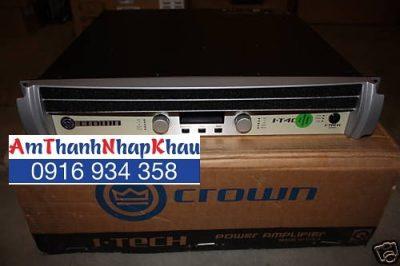 Cục đẩy công suất CROWN IT 4000
