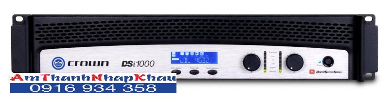 CROWN DSI 1000