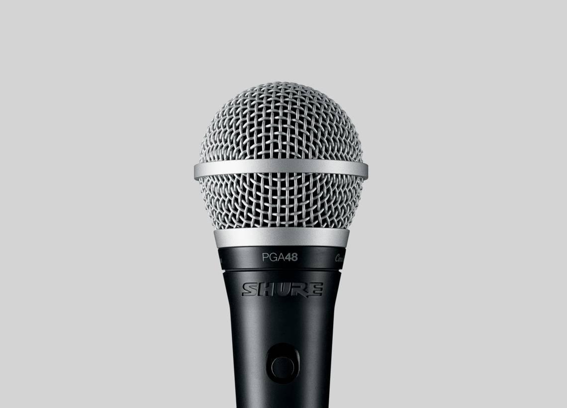 Micro karaoke Shure PGA48