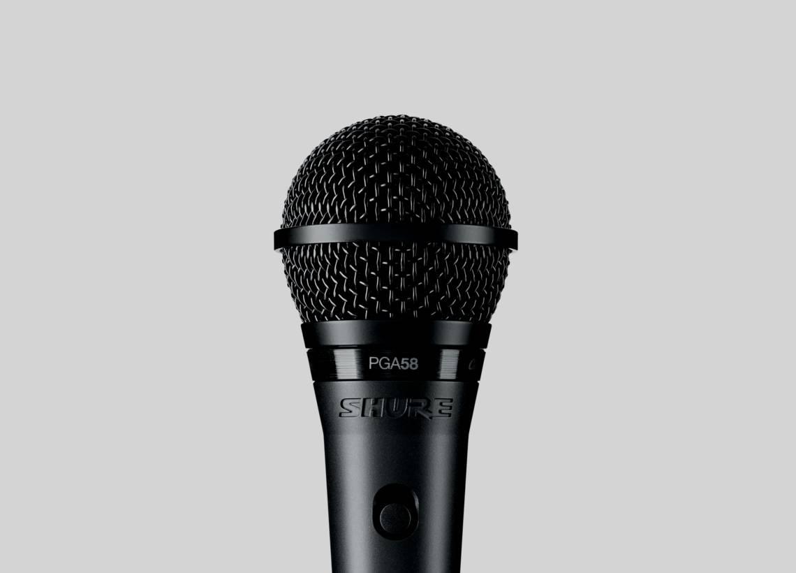 Micro karaoke Shure PGA58