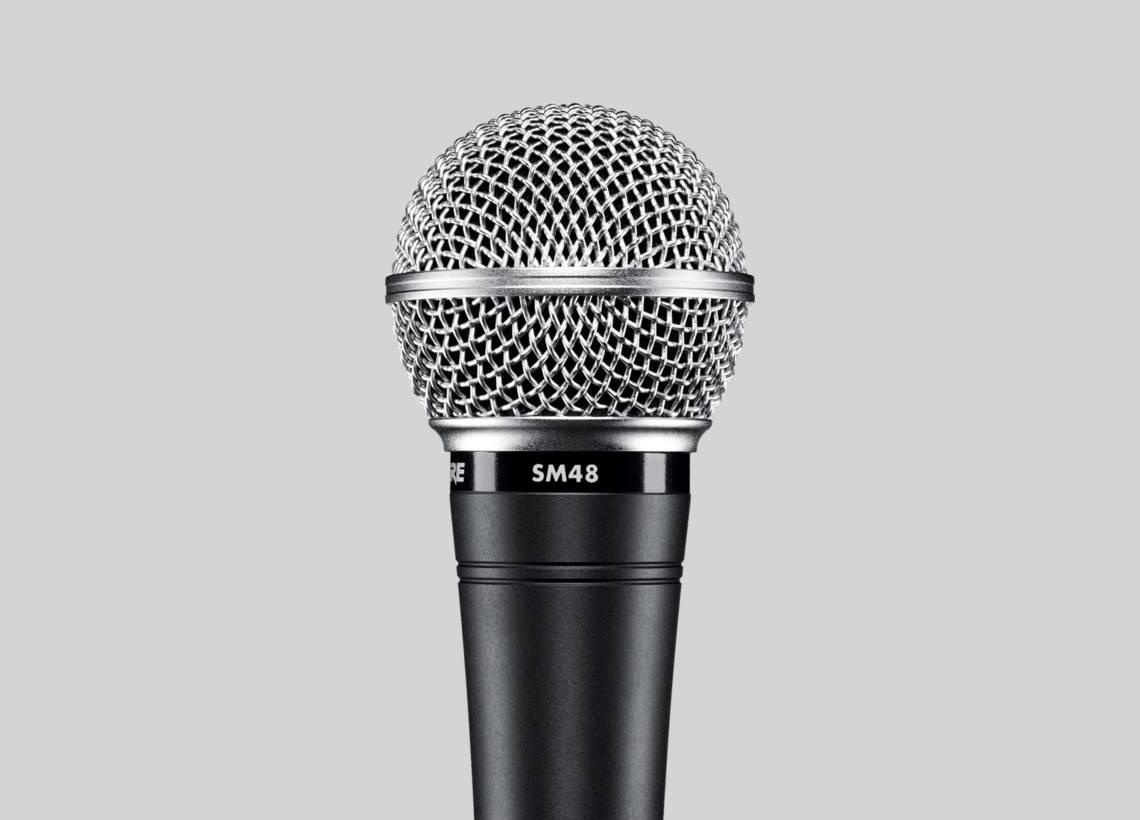 Micro hát karaoke Shure SM48