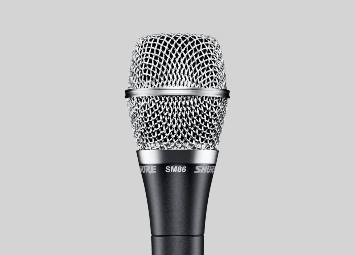 Micro karaoke Shure SM86