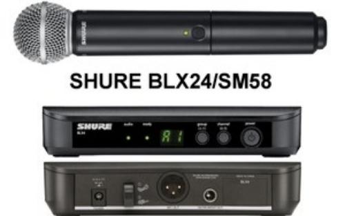 Micro không dây Shure PLX 24A SM58