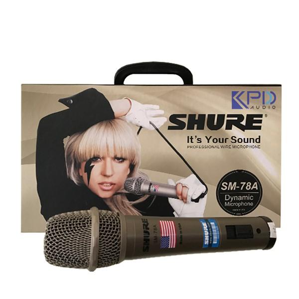 Micro-shure-sm-78A