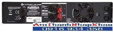 Giá, Tính năng của cục đẩy công suất CROWN LPS 2500 2