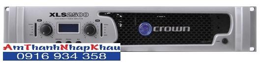 Cục đẩy công suất CROWN XLS 2500