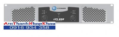 Giá, thông số kỹ thuật của cục đẩy công suất CROWN LPS 800 2