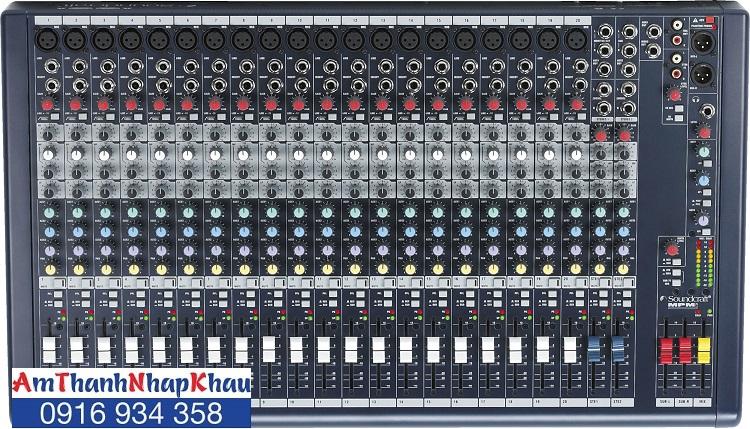 Bàn trộn Mixer SOUNDCRAFT MPMi20