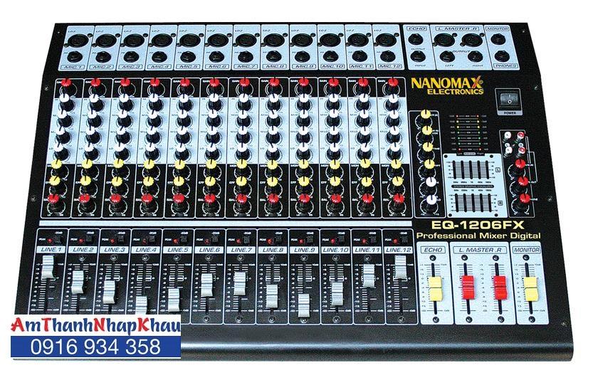 Mixer Nanomax EQ 1206FX