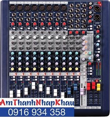 Bàn trộn Mixer  Soundcraft MFXi8