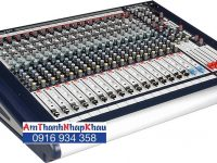 Bàn trộn Mixer Soundcraft GB216