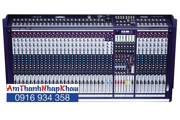 Bàn trộn Mixer Soundcraft GB4/32