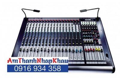 Bàn trộn Mixer Soundcraft GB4/16
