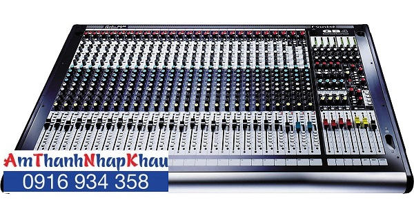Bàn trộn Mixer Soundcraft GB4/24