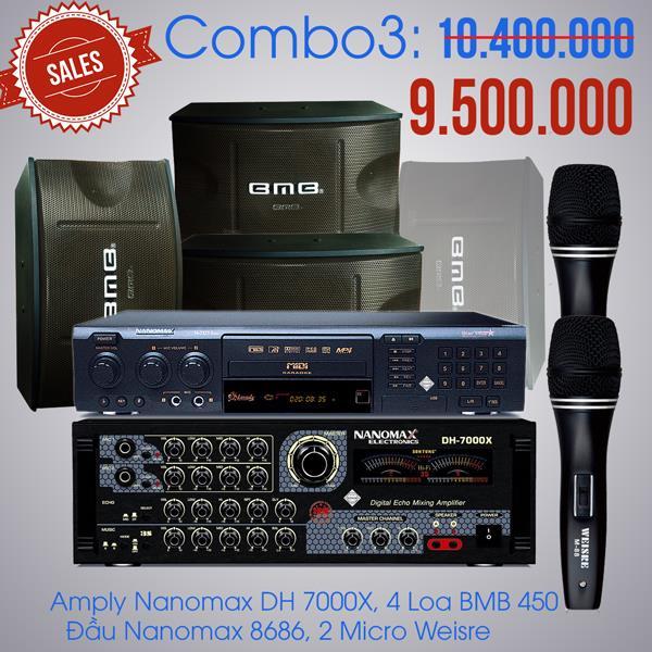 Cấu hình dàn karaoke giá rẻ số 3