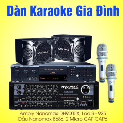 dàn karaoke gia đình việt nam