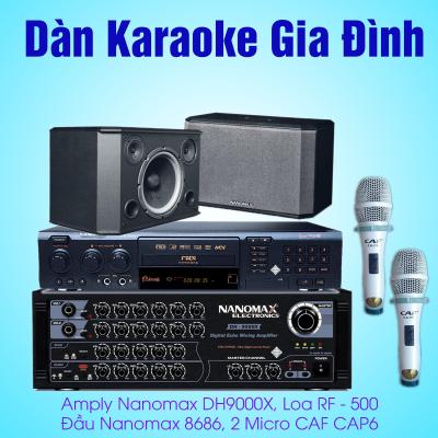 dàn karaoke gia đình nanaomax