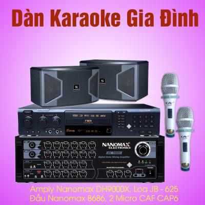 dàn karaoke gia đình giá rẻ