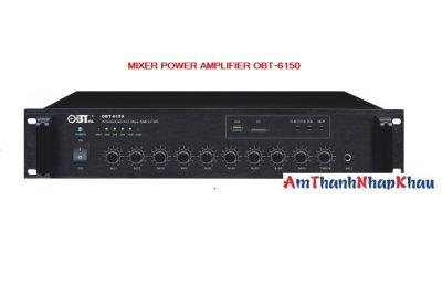 Amply OBT 6150 bộ chọn 1 vùng loa công suất 150W 2