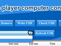 Bộ Amply hẹn giờ OBT 9300 USB chất lượng cao 4