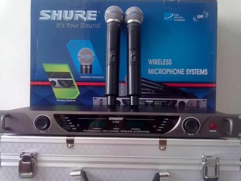 Micro Khong Day Shure-U830