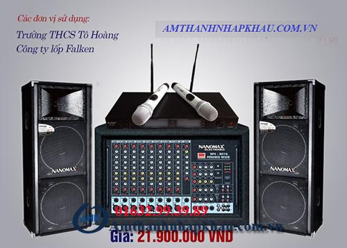 Âm thanh hội trường - Mua loa hội trường giá rẻ tại AHK 3
