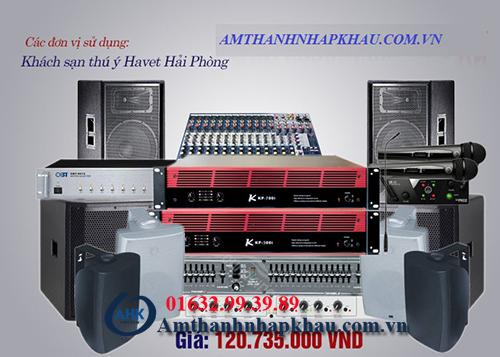 Âm thanh hội trường - Mua loa hội trường giá rẻ tại AHK 5