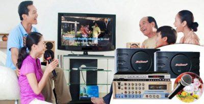Dàn karaoke 5 số bao gồm những thiết bị nào? 1
