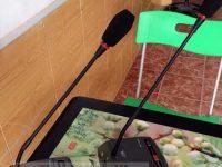 Micro chủ tịch OBT 3000A giá rẻ âm thanh tốt, độ hút tốt, tiếng trong 2