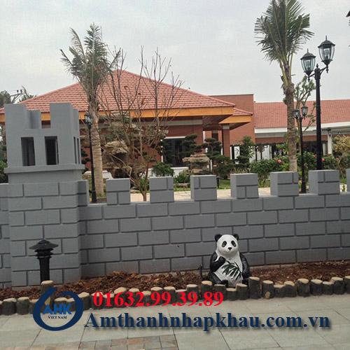 Dự án lắp đặt âm thanh hội trường, sân vườn khu rì sọt thị trấn Thanh Ba tỉnh Phú Thọ 9