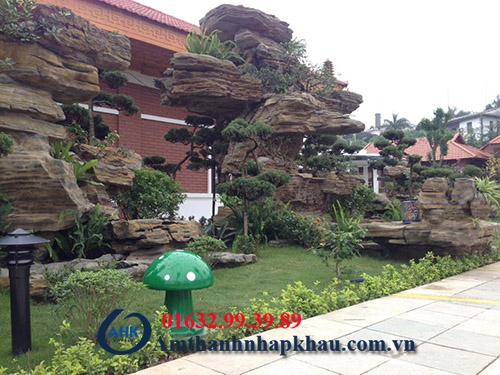 Dự án lắp đặt âm thanh hội trường, sân vườn khu rì sọt thị trấn Thanh Ba tỉnh Phú Thọ 4