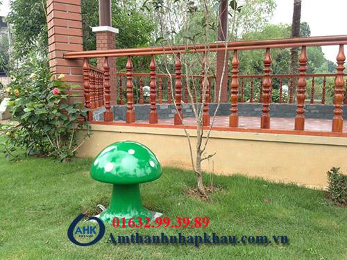 Dự án lắp đặt âm thanh hội trường, sân vườn khu rì sọt thị trấn Thanh Ba tỉnh Phú Thọ 5