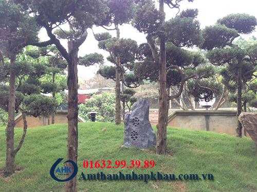 Dự án lắp đặt âm thanh hội trường, sân vườn khu rì sọt thị trấn Thanh Ba tỉnh Phú Thọ 6