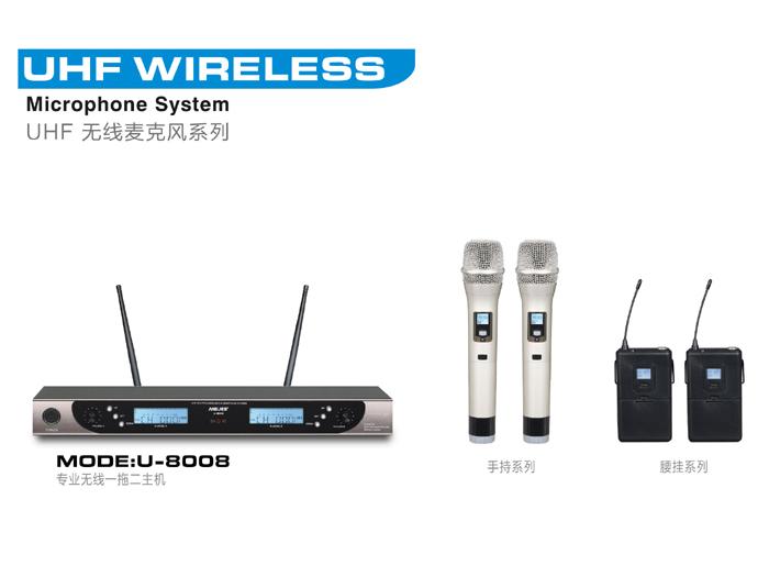 Micro không dây Weisre U8008 chất lượng nhập khẩu có CO,CQ 1