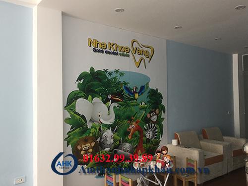 Dự án lắp đặt loa âm trần cho trung tâm Nha Khoa bán đảo Linh Đàm 1