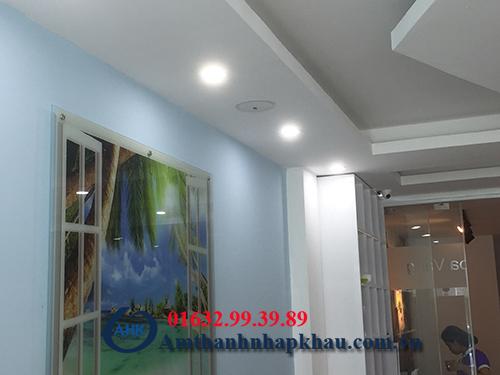 Dự án lắp đặt loa âm trần cho trung tâm Nha Khoa bán đảo Linh Đàm 6