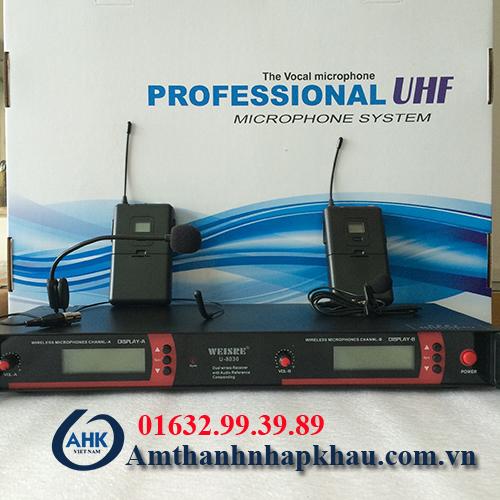 Micro cài đầu weisre U8030