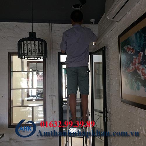 Dự án âm thanh nghe nhạc cho quán cafe, trà sữa số 10 phố chả cá Hà Nội 1