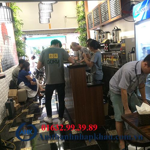 Dự án âm thanh nghe nhạc cho quán cafe, trà sữa số 10 phố chả cá Hà Nội 12