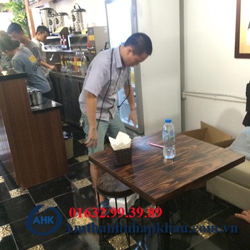 Dự án âm thanh nghe nhạc cho quán cafe, trà sữa số 10 phố chả cá Hà Nội 13